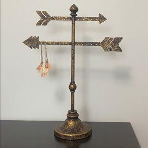 Metal Jewelry Stand